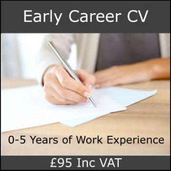 Early Career CV