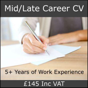 Mid/Late Career CV