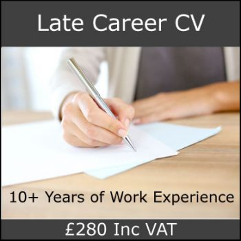 Late Career CV
